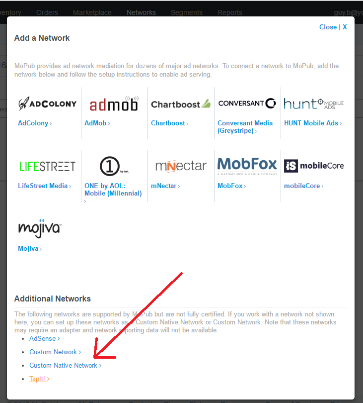 Android SDK MoPub Adapter – YouAppi Help Center